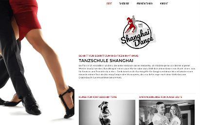 Jimdo Design-Vorlage Shanghai V4