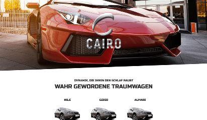 Jimdo Design-Vorlage Cairo V3