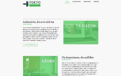 Jimdo Design-Vorlage Tokyo V8