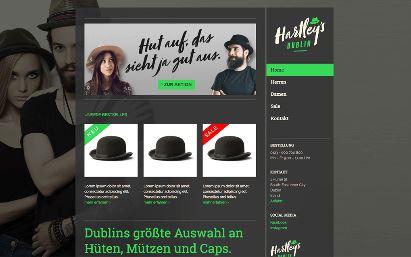 Jimdo Design-Vorlage Dublin V1