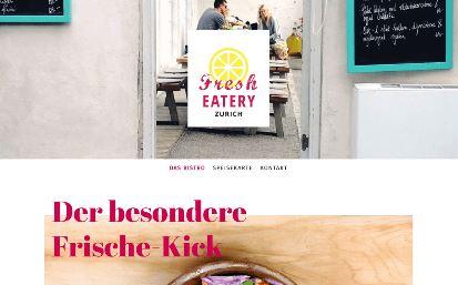 Jimdo Design-Vorlage Zurich V1