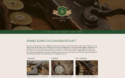Jimdo Design-Vorlage Zurich V2