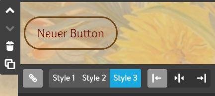 Screenshot Jimdo Creator Button-Element