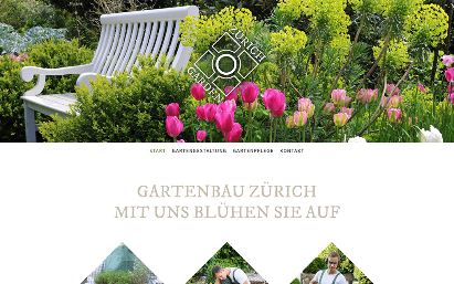 Jimdo Design-Vorlage Zurich V7