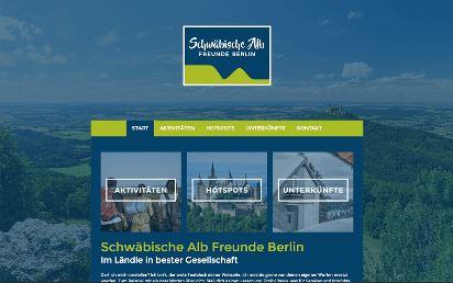Jimdo Design-Vorlage Berlin V4