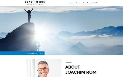 Jimdo Design-Vorlage Rome V4