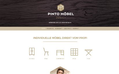 Jimdo Design-Vorlage Zurich V3