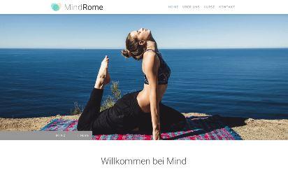 Jimdo Design-Vorlage Rome V2