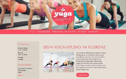 Jimdo Design-Vorlage Florence V3
