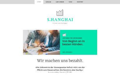 Jimdo Design-Vorlage Shanghai V1