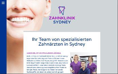 Jimdo Design-Vorlage Sydney V2