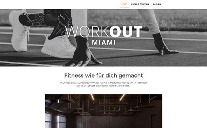 Jimdo Design-Vorlage Miami V1