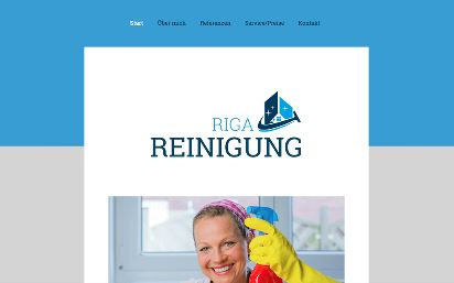 Jimdo Design-Vorlage Riga V1