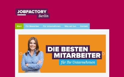 Jimdo Design-Vorlage Berlin V1
