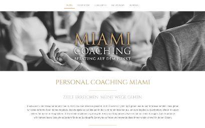 Jimdo Design-Vorlage Miami V5