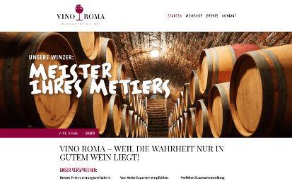 Jimdo Design-Vorlage Rome V1