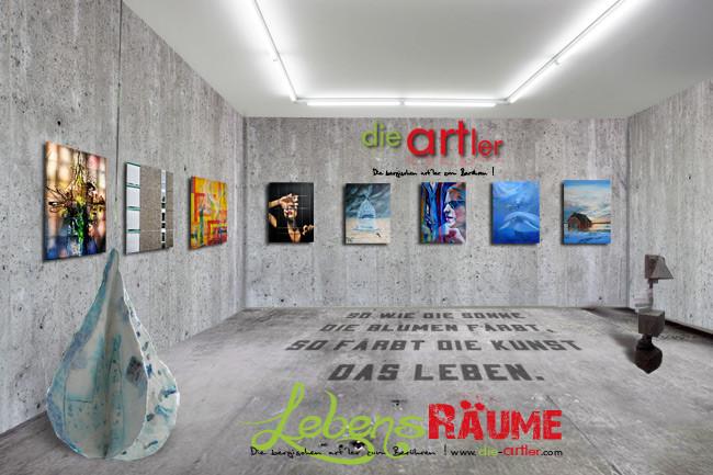 Ausstellung Lebensräume Die Artler