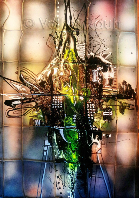 Wenig Farbe - Volker Rauh