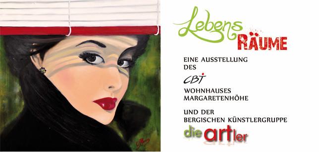 Die ARTler Ausstellung LebensRäume by CBT