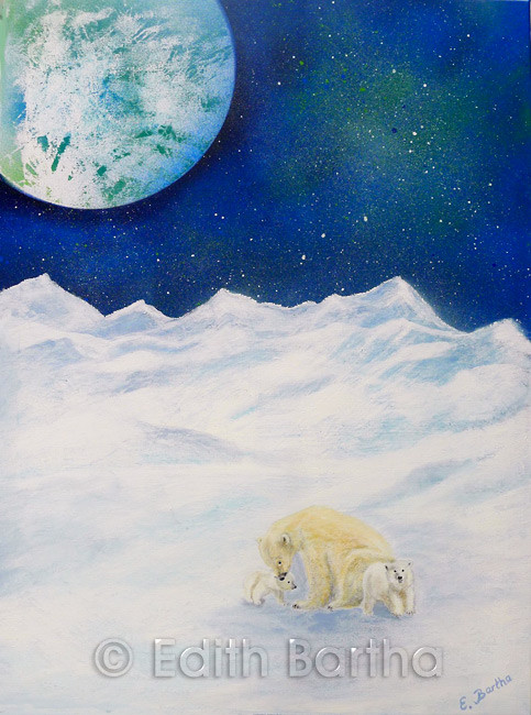 Eisbären - Edith Bartha