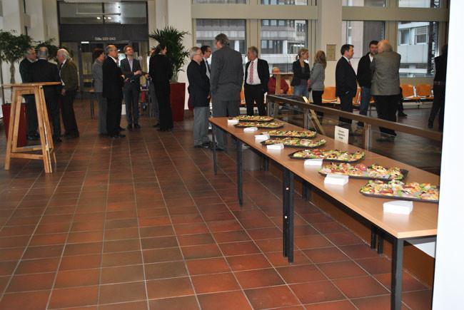 Vernissage 21. Febr. 2013 im Landgericht Köln
