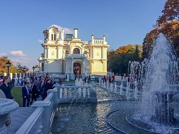 Дом купца Асеева и фонтан