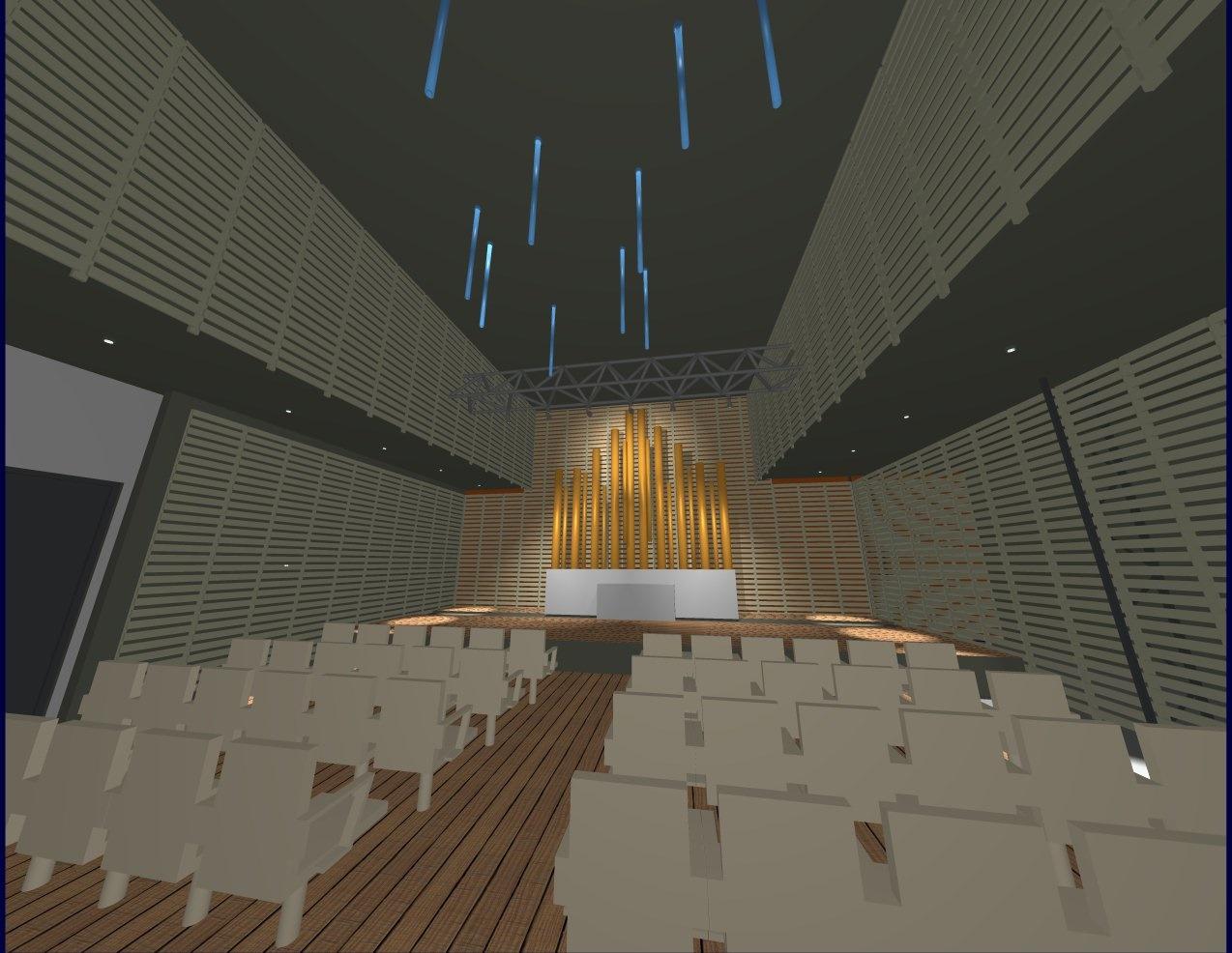 L'orgue et la scène