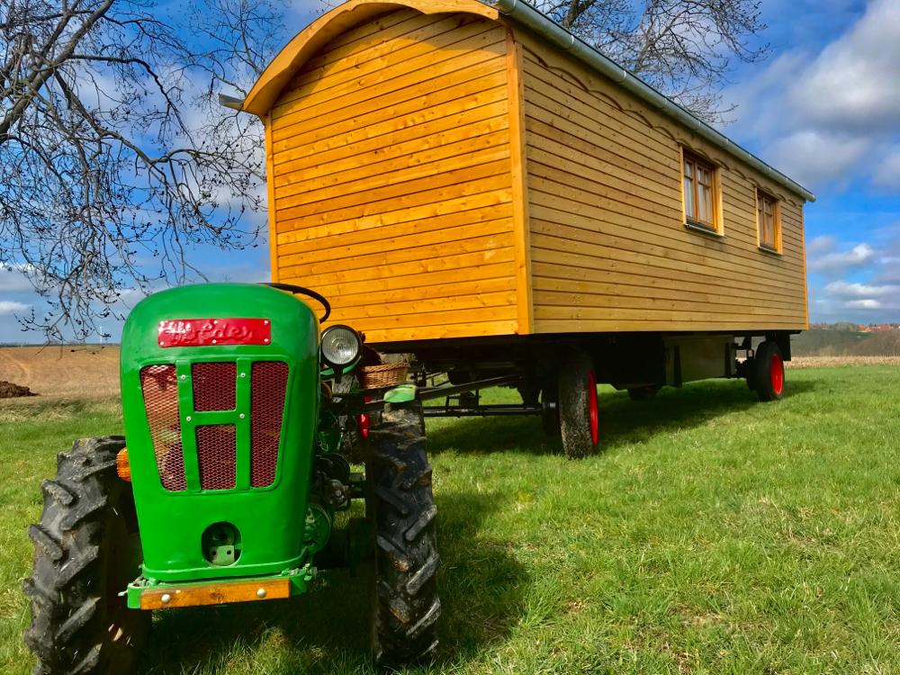 Bauwagen, Zirkuswagen, Holzwohnwagen zu verkaufen