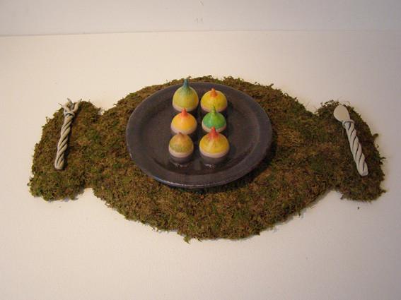 Ingrid Stanzer, Keramik, Naturmaterial