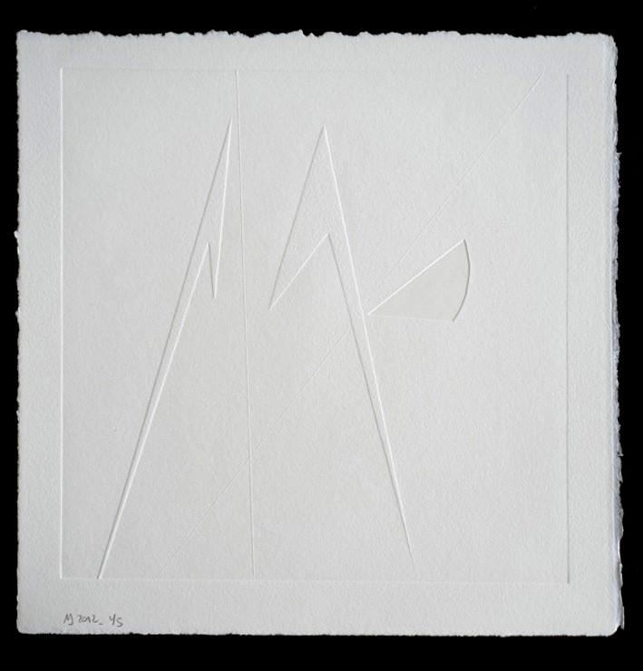 Branca-Masa  o.T. Reliefdruck