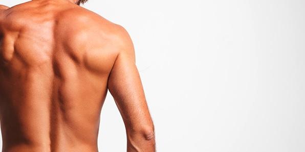 Dauerhafte Haarentfernung IPL SHR Rücken Nacken Schultern Waxing Sugaring Hürth Kerpen Frechen Brühl Erftstadt