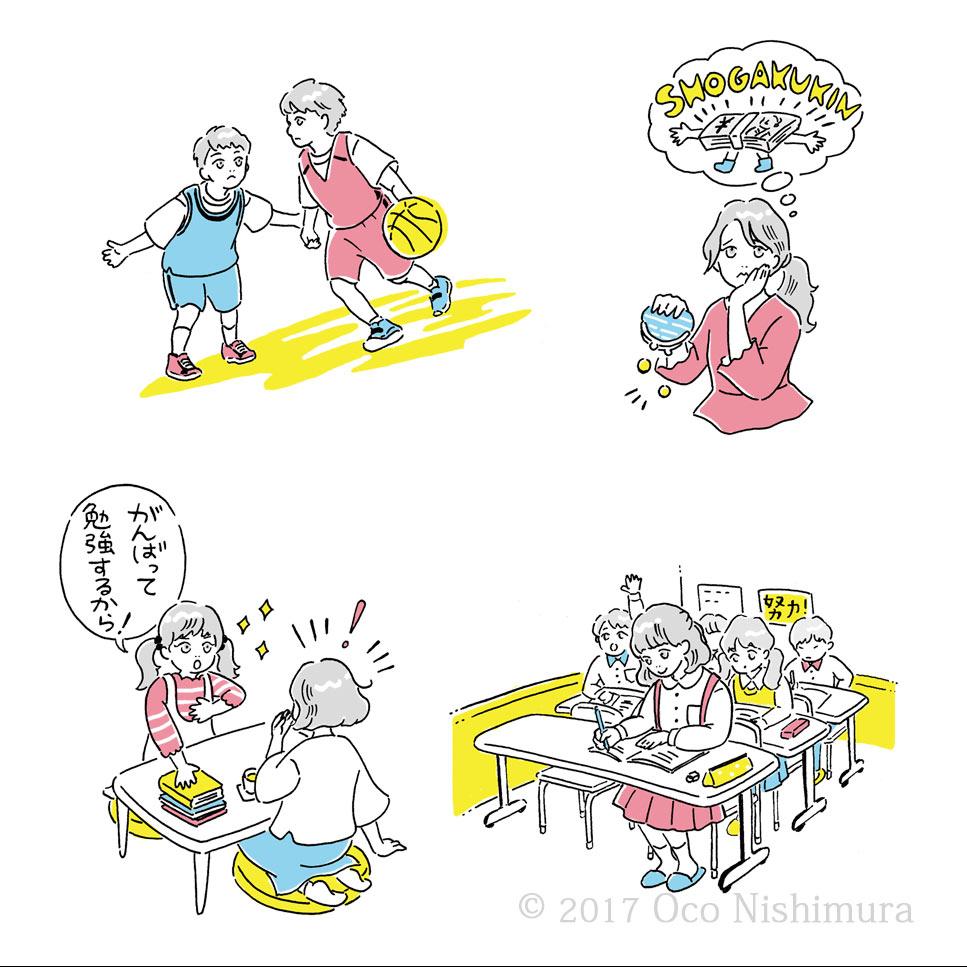 小学生・親