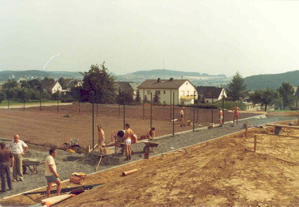 Platzbau 1983
