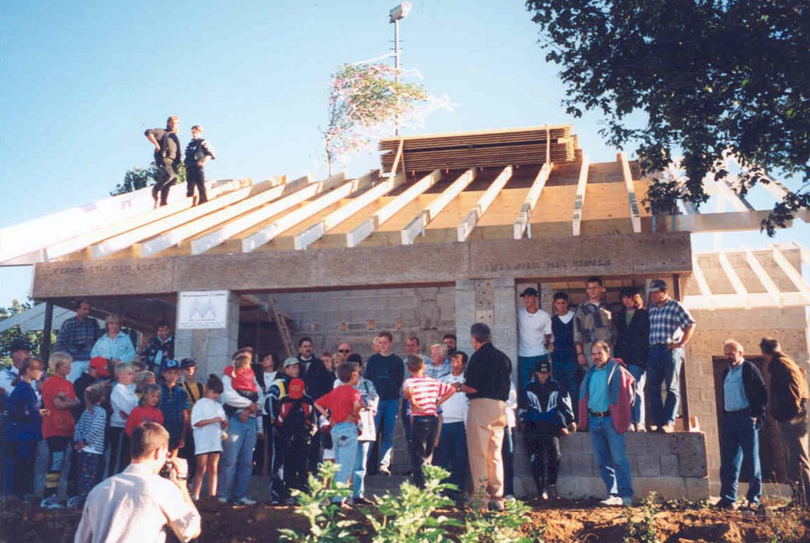 20.09.1997 - Richtfest neues Clubhaus