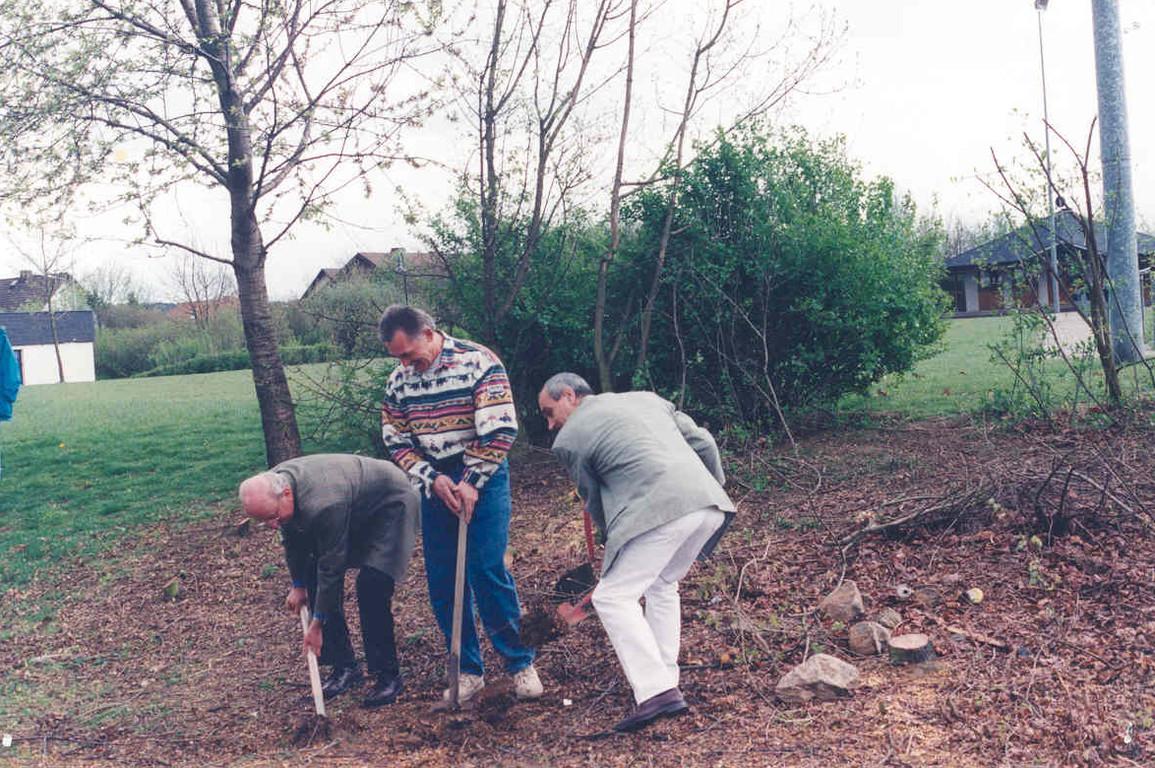 27.04.1997 - Spatenstich Clubhausbau