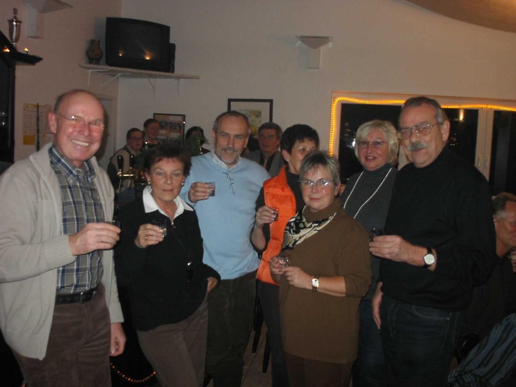 17.12.2004 - 25 Jahre TCH - Gründungsmitglieder