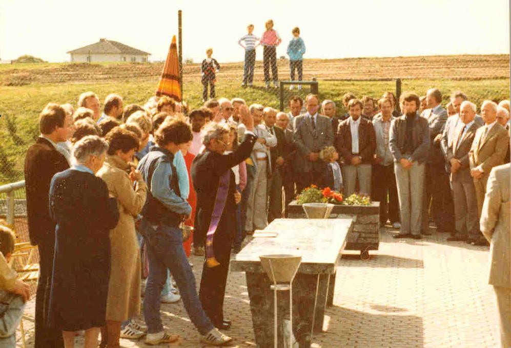 Einsegnung Plätze 04.09.1983