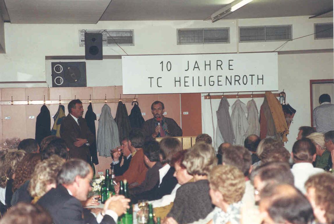 1989 - 10 Jahre TCH - ZBV Raum
