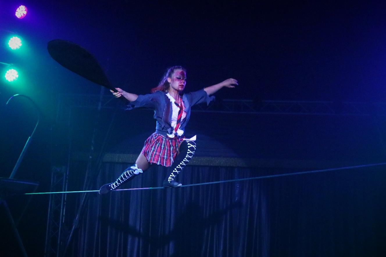 Tanz auf dem Seil