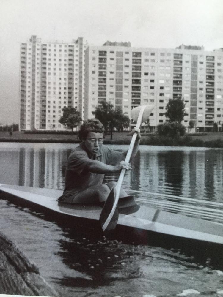Watersportbaan in Gent 1967. K1: eerste prijs. Junioren.