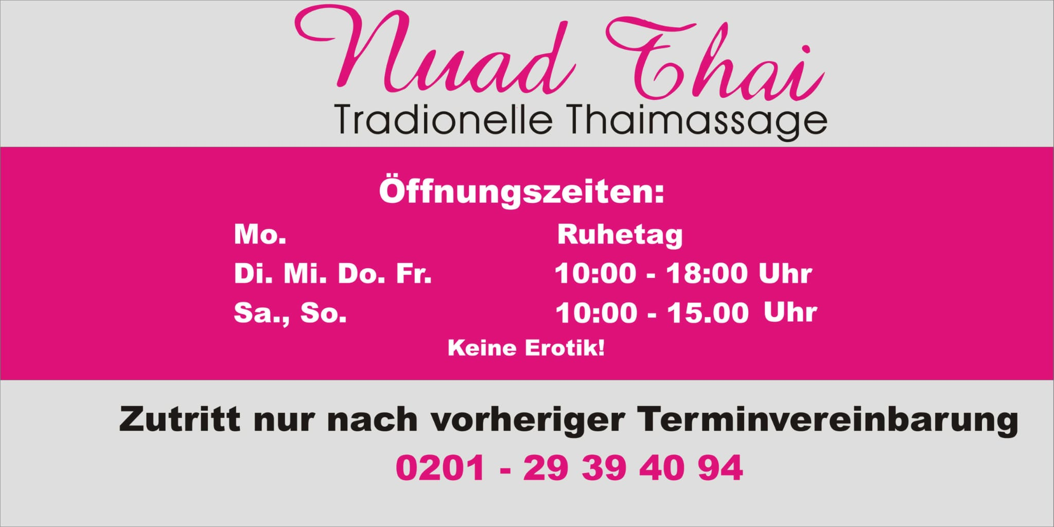 Thai massage essen frintrop