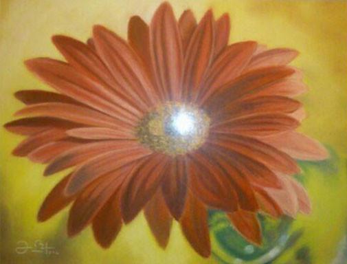 FLOR - Pastel sobre papel Canson - 2012