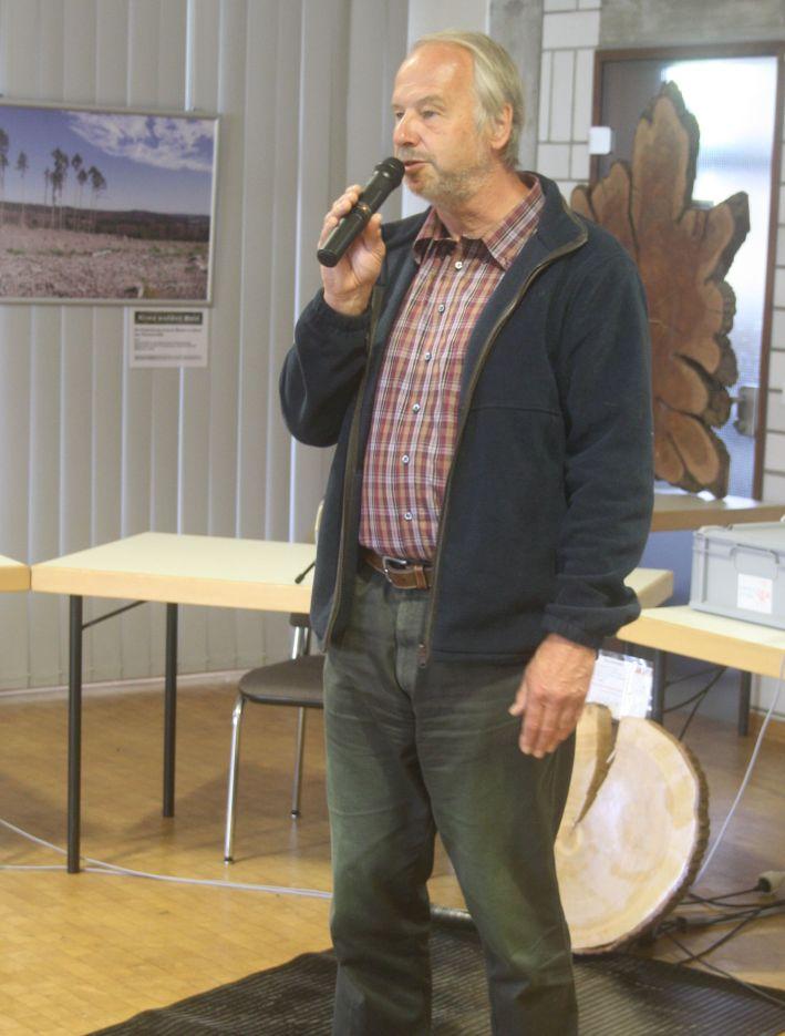 Grußwort von Dr. Steinwarz, Leiter der Biologischen Station