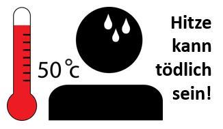 Hitzewellen können lebensgefährlich sein
