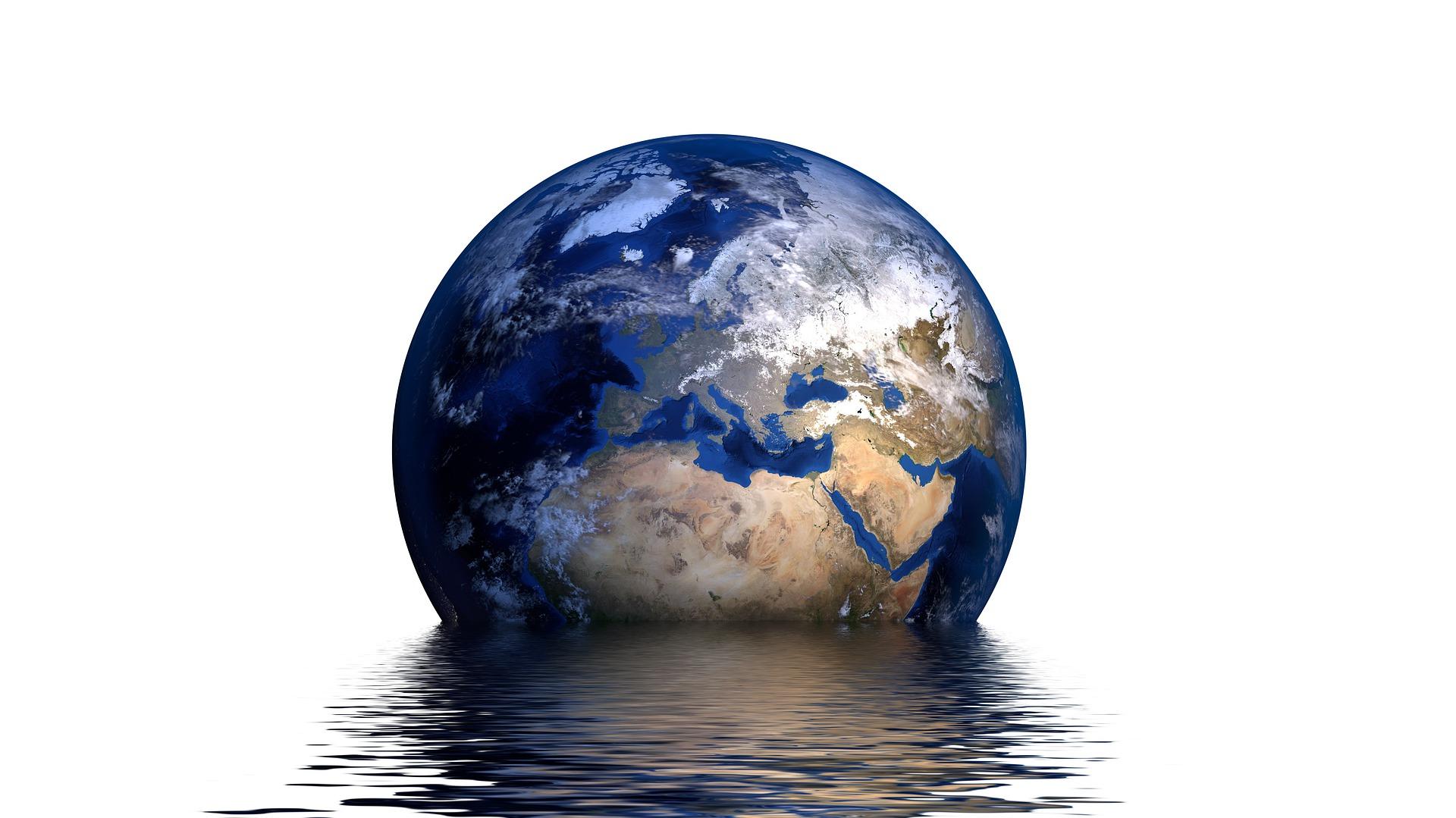 Ich liebe schwimmen - aber die Erde darf nicht baden gehen