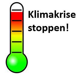Pariser Klimaabkommen einhalten: Maximal +1,5°C.