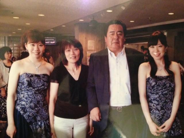 2012/6/17 閉演後にロビーでパシャリ!家族写真☆