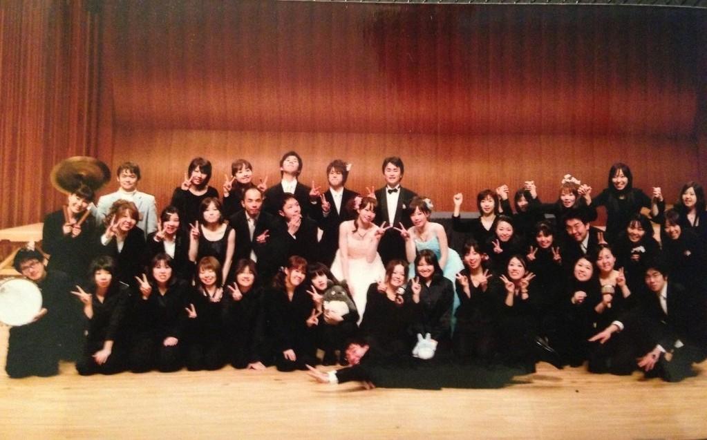 2010/3/27 愛媛リエート吹奏楽団春コンにゲスト出演しました☆