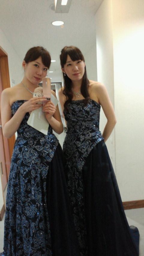 2012/6/17 愛媛県新人演奏会の出番前に☆