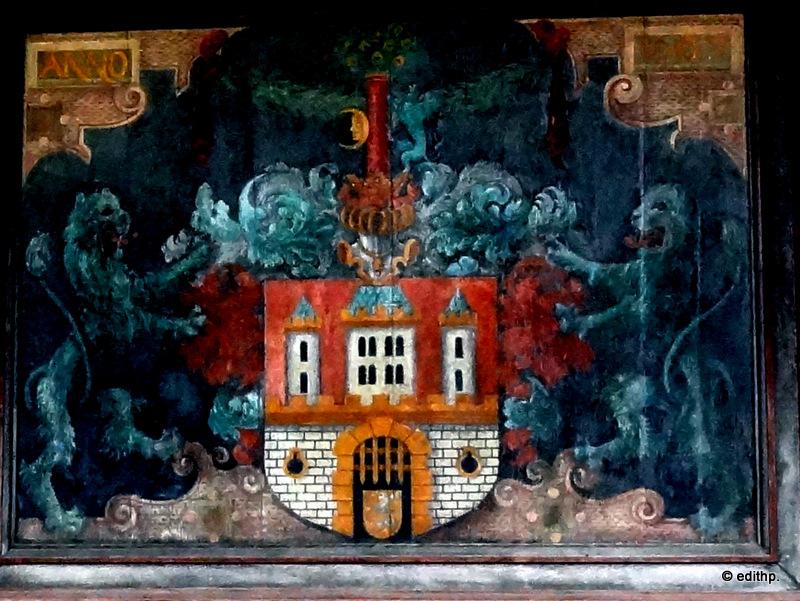 Wandgemälde im Niedergericht